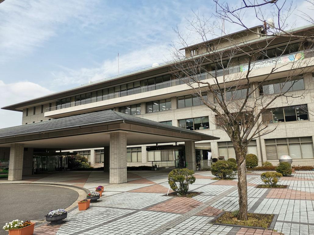 京田辺市役所の外観画像