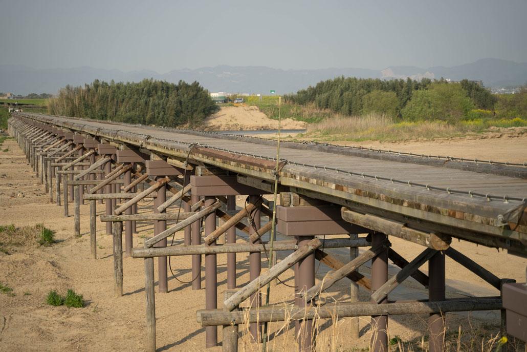 2020年4月の流れ橋