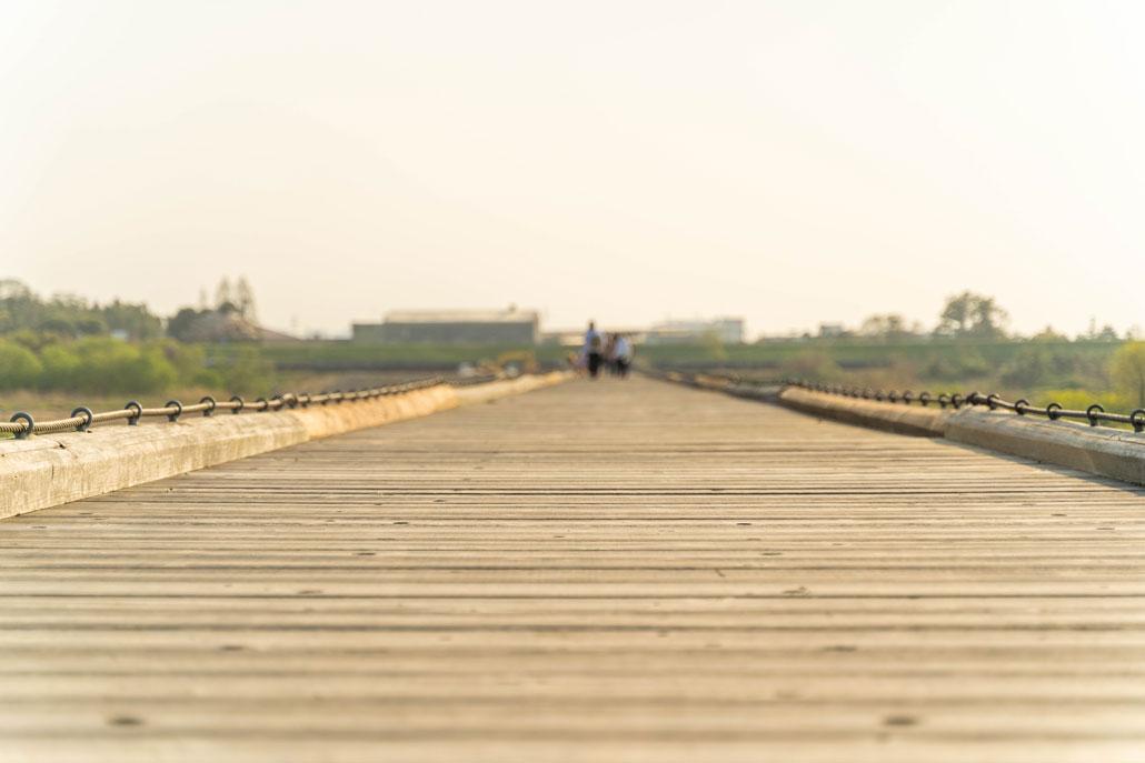 流れ橋(久御山町から)の画像