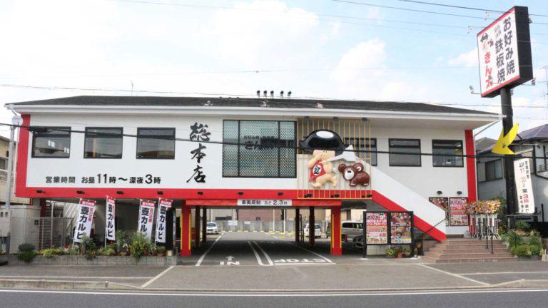 「お好み焼・鉄板焼 きん太 総本店」外観画像