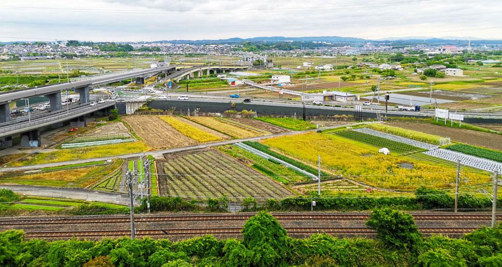 5月22日撮影 木津川市の風景