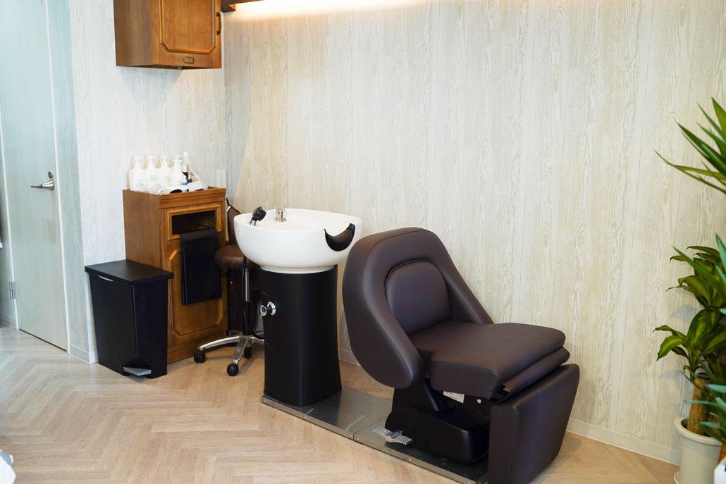 「salon de filo / サロン ド フィーロ」シャンプー台画像