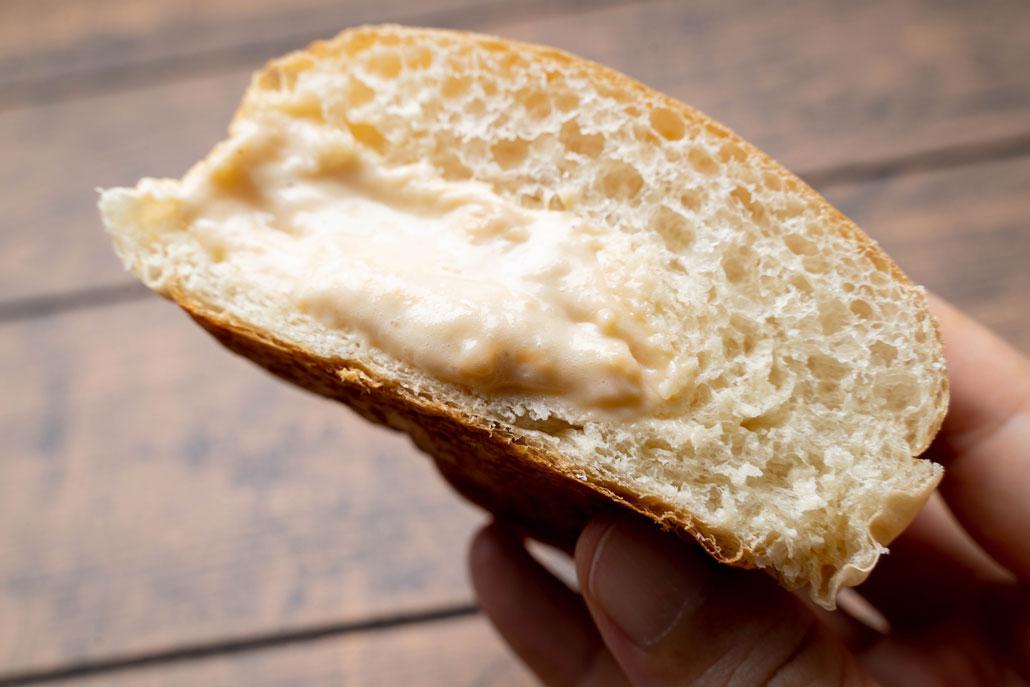 「極上とろけるクリームぱん」の画像