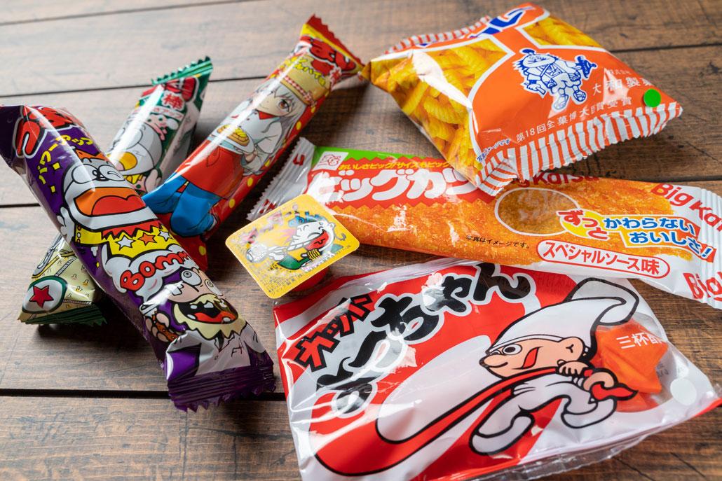 「駄菓子屋 M'S /エムズ」お菓子の画像