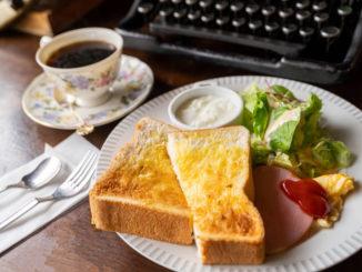 「cafe de granderue / カフェ・デ・グランリュ」モーニング画像1
