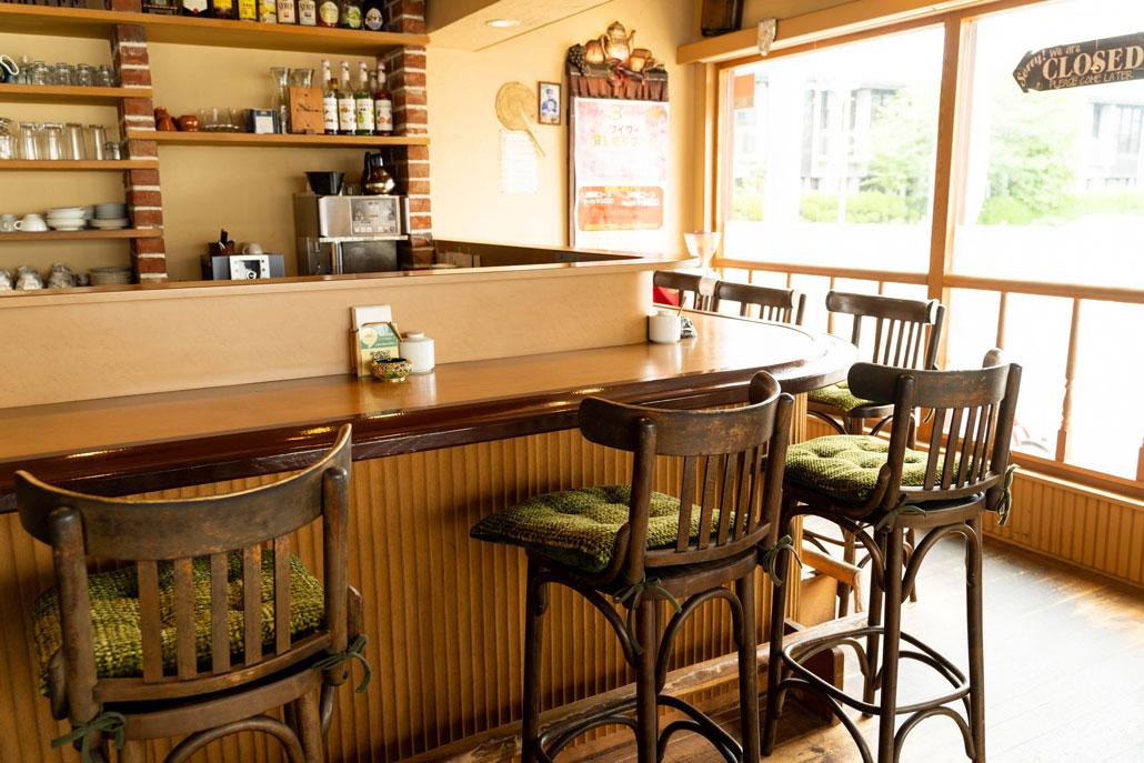「cafe de granderue / カフェ・デ・グランリュ」店内画像2