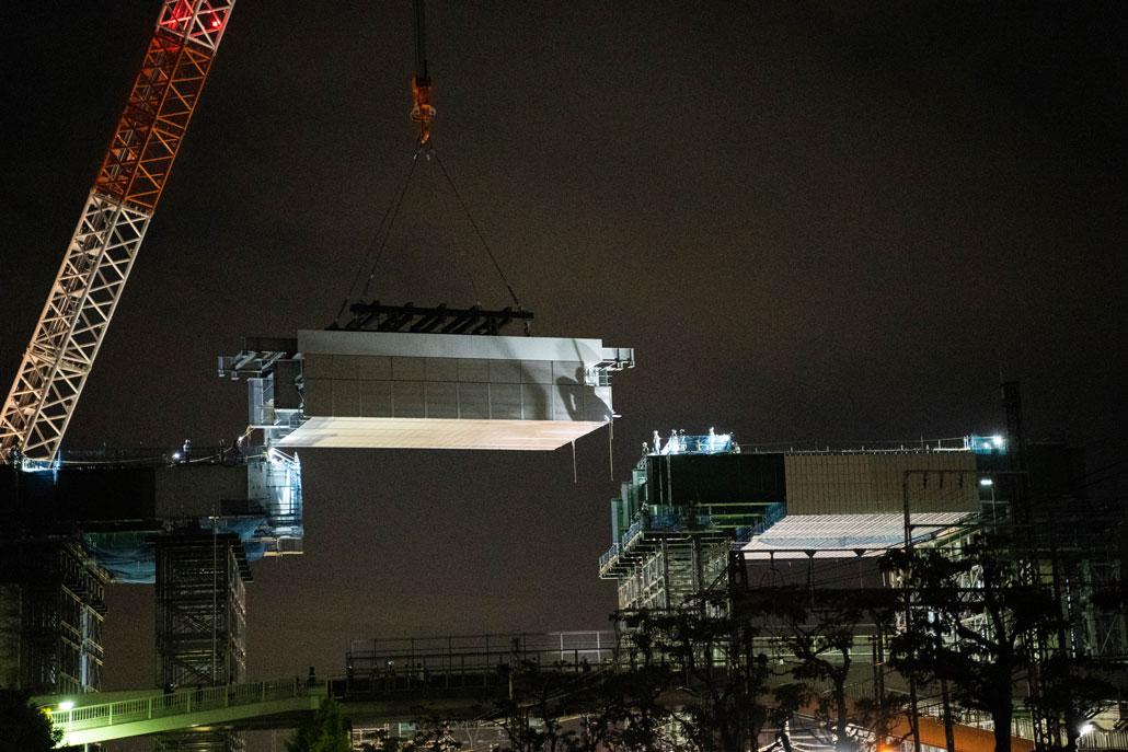 「新名神高速道路の高架橋間」画像4