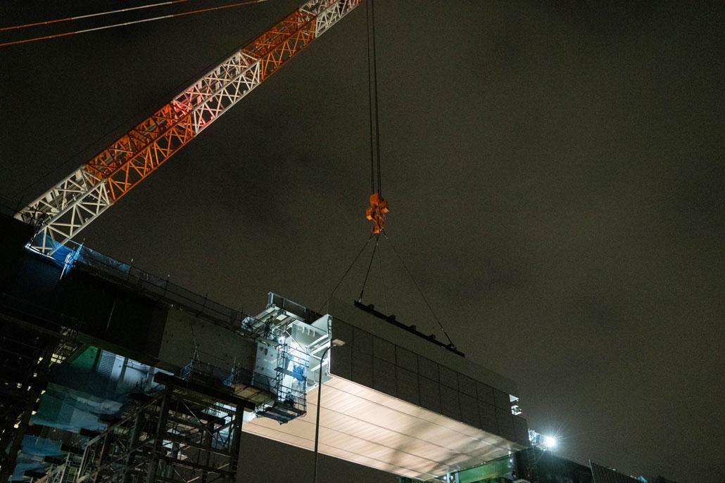 「新名神高速道路の高架橋間」画像6