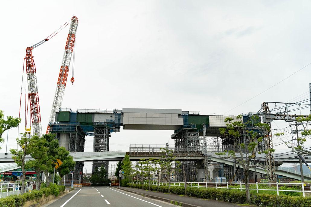 「新名神高速道路の高架橋間」画像9