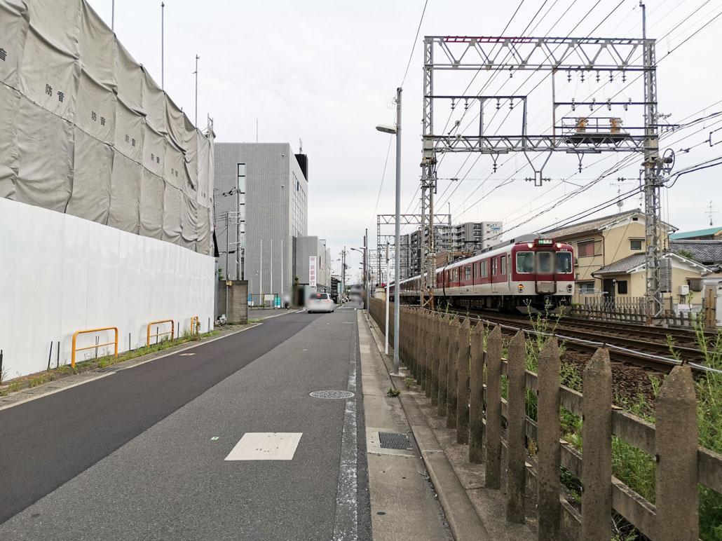 「タイムズ寺田駅前のビル」の場所の外観画像1