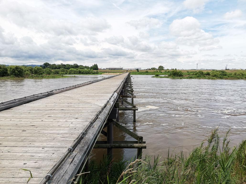 流れ橋の画像2