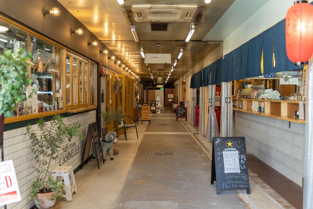 大阪屋マーケット通路の画像1