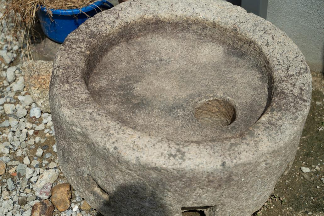 石臼の画像