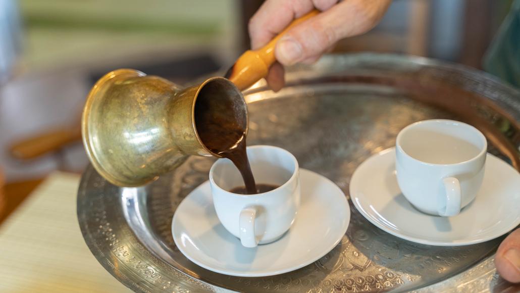 ターキッシュコーヒーの画像
