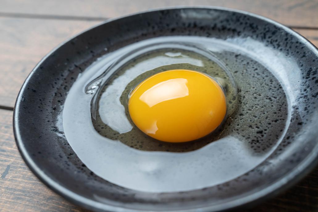 「やどりぎ」の卵黄の画像