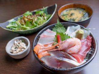 海鮮丼定食の画像