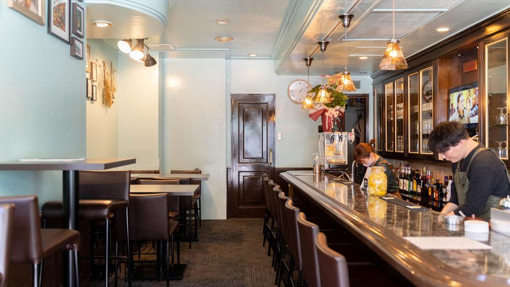 「cafe& diner AURORA」店内画像