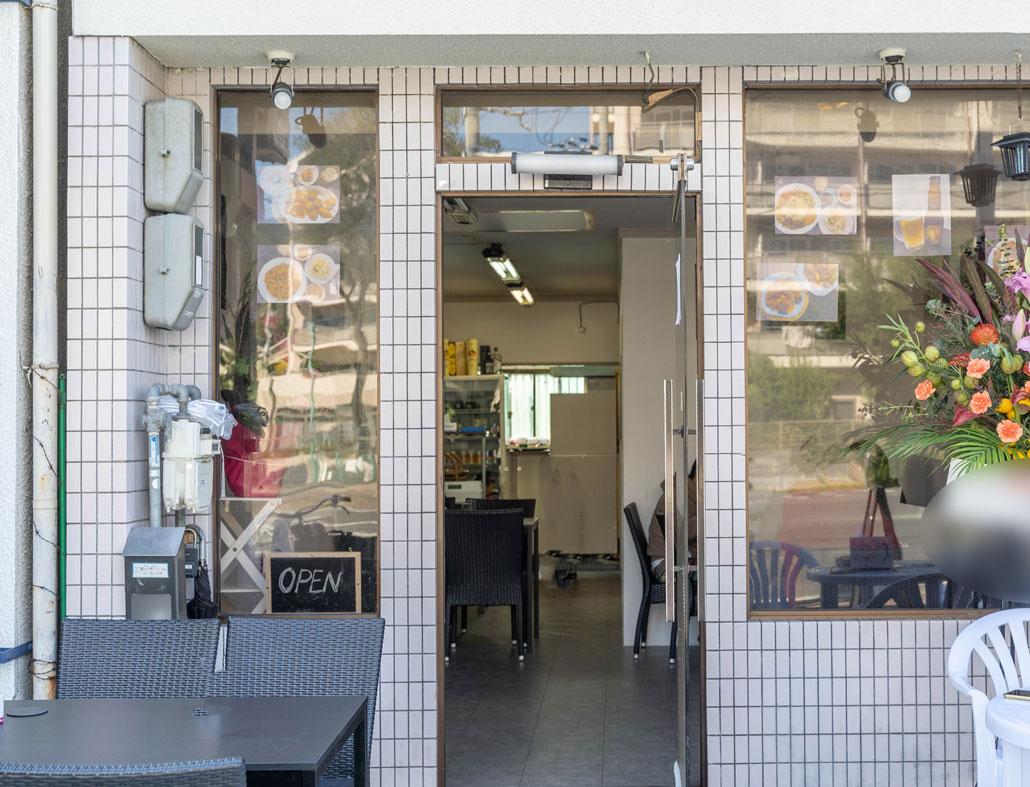 お店の外観画像