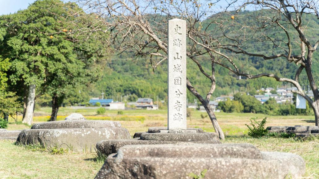 恭仁京・山城国分寺寺跡の画像