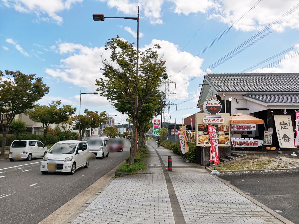 「びっくりドンキー 松井山手店」場所の画像2