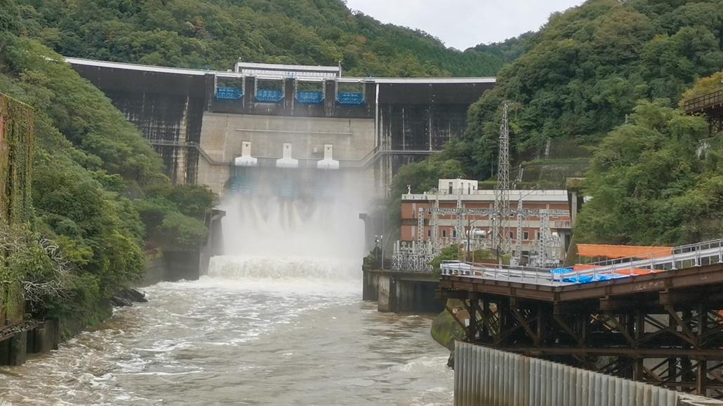 天ヶ瀬ダムの画像