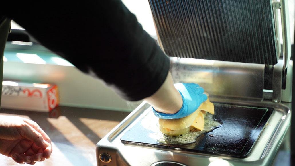 キューバサンドの料理画像