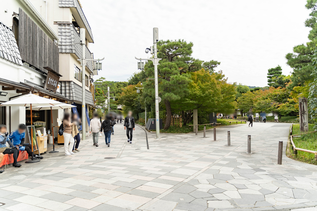 平等院前の画像