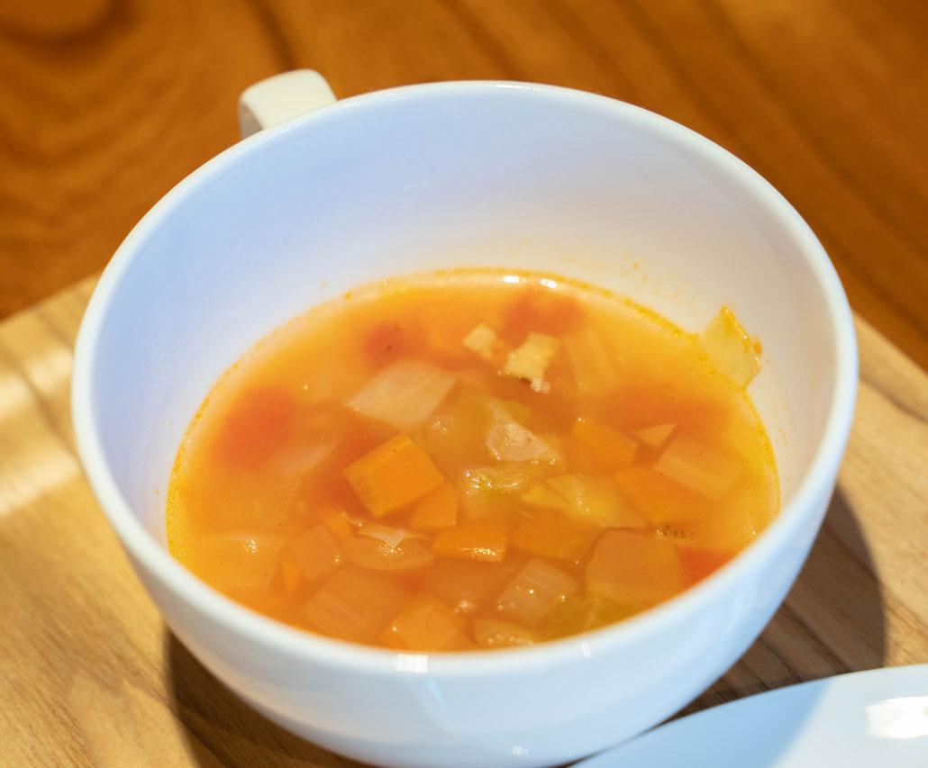 「キッチン ヒロ」スープの画像