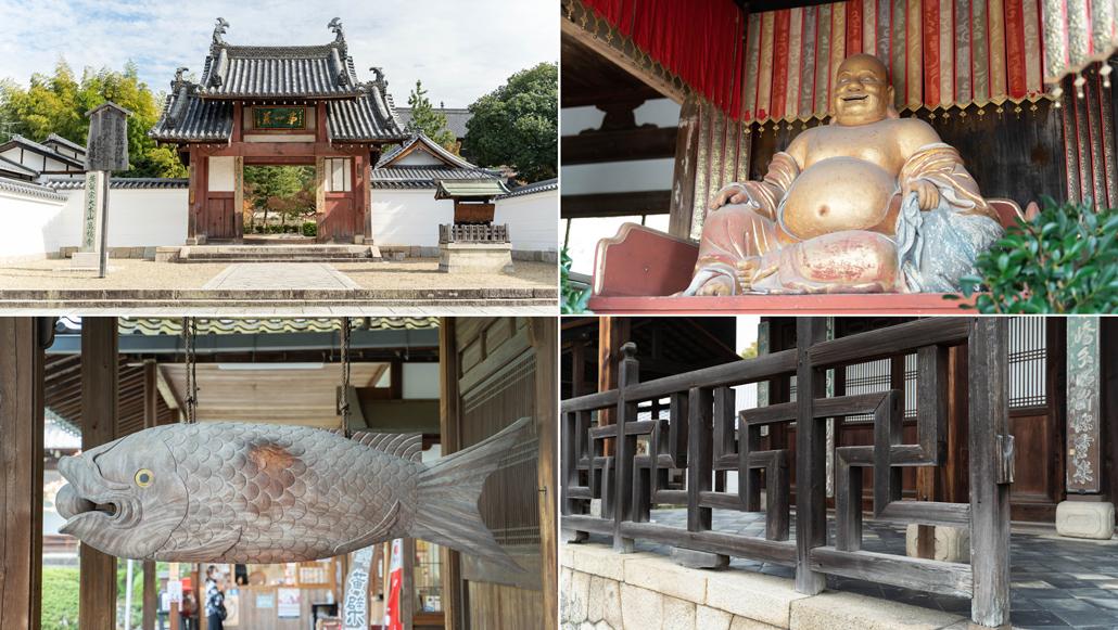 萬福寺の合成写真