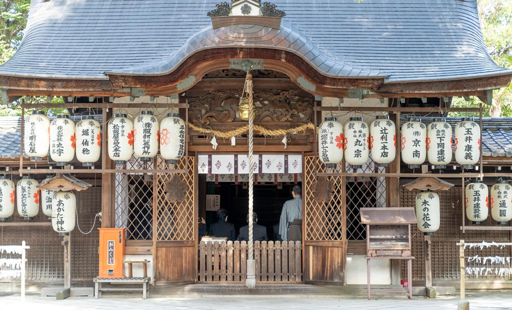 「縣神社の献茶祭」の画像2