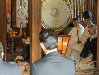 「縣神社の献茶祭」の画像