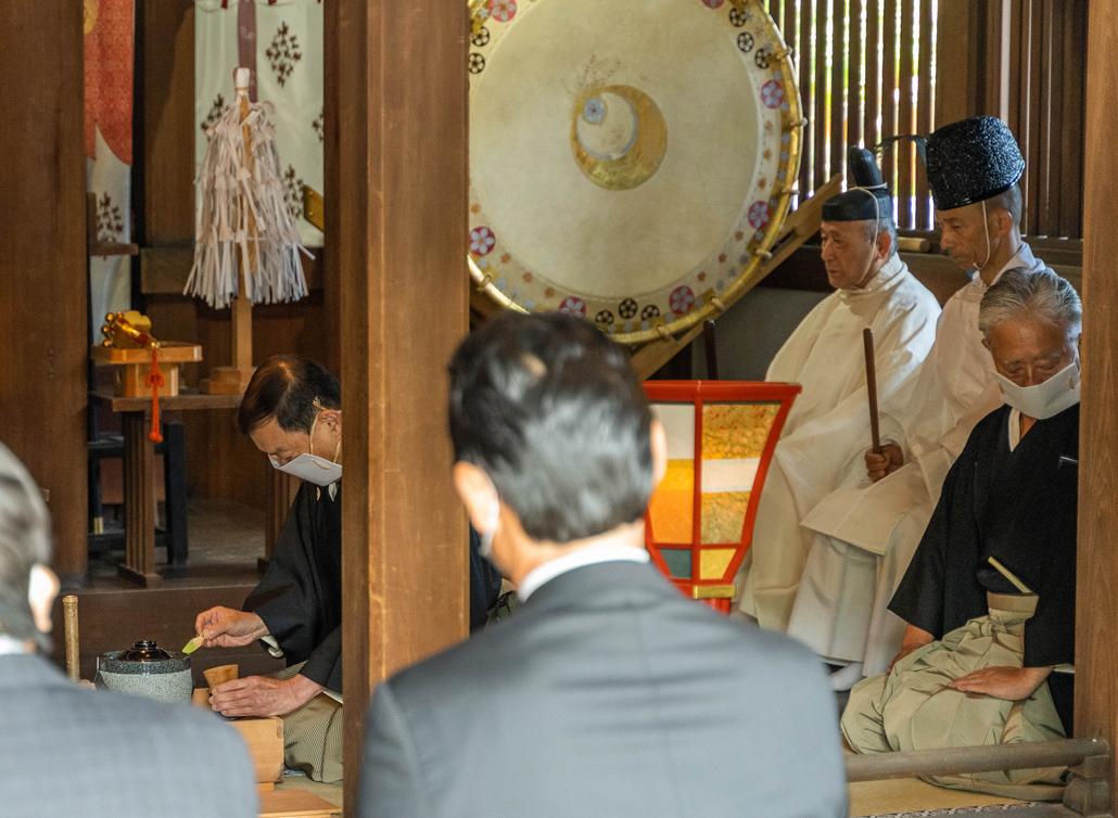 「縣神社の献茶祭」の画像1