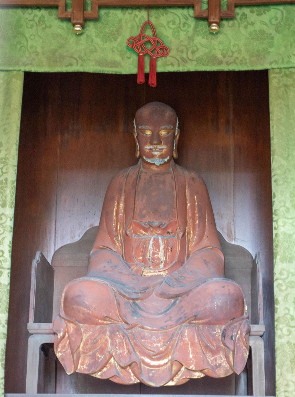 「達磨大師坐像」の画像