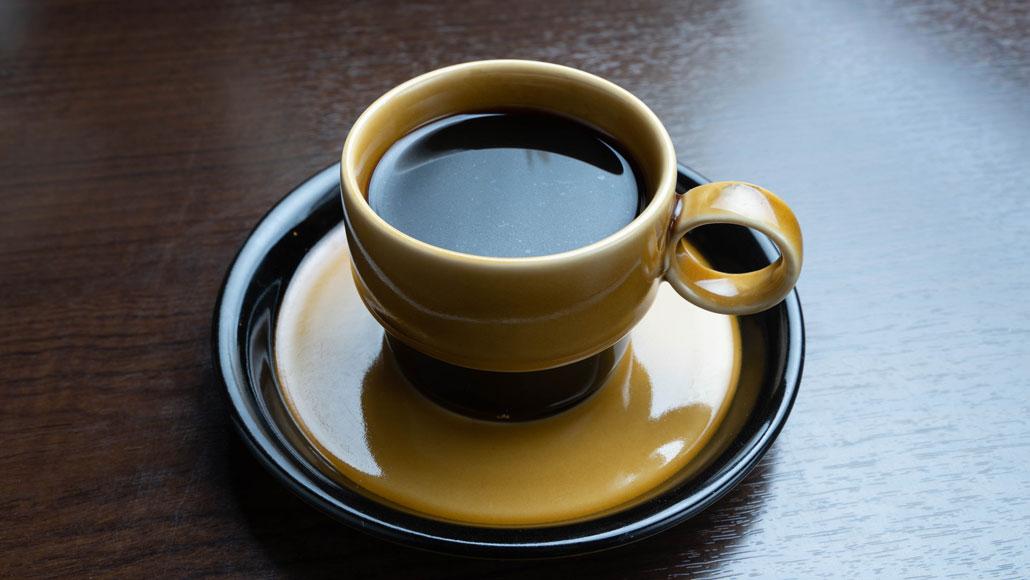 「食堂 山小屋」コーヒーの画像