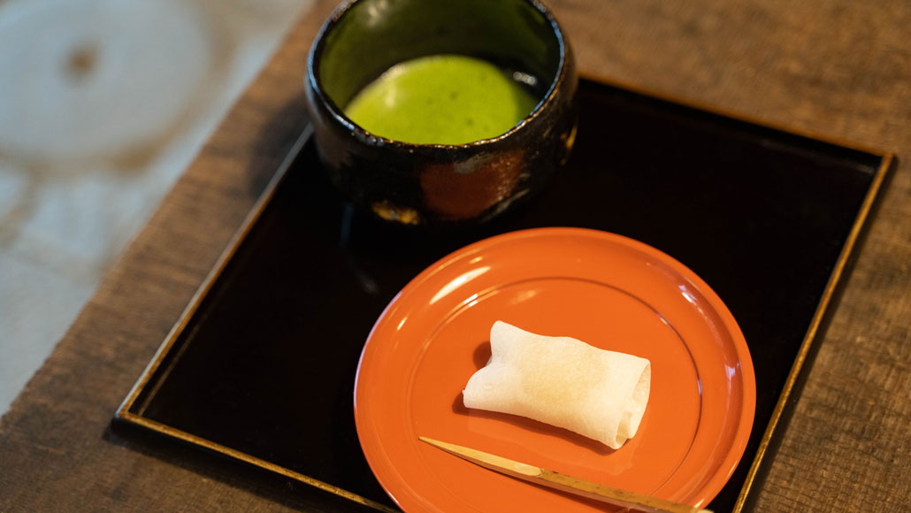 「茶房 吉祥庵」お抹茶(菓子付き)の画像