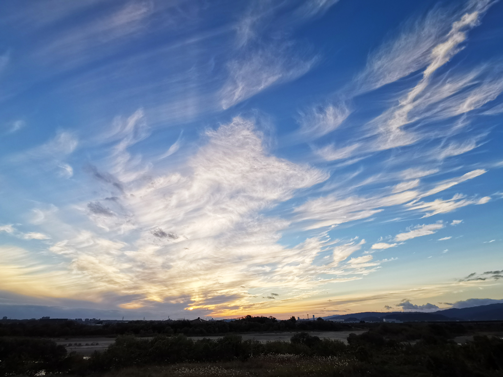 ほうき雲の画像2