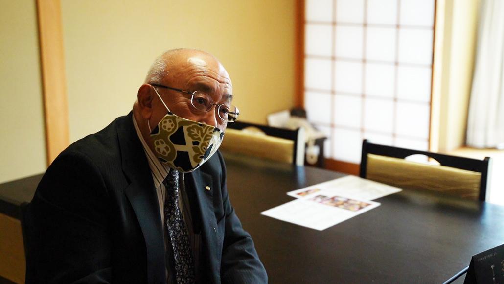 お茶の京都DMO 脇博一社長の画像