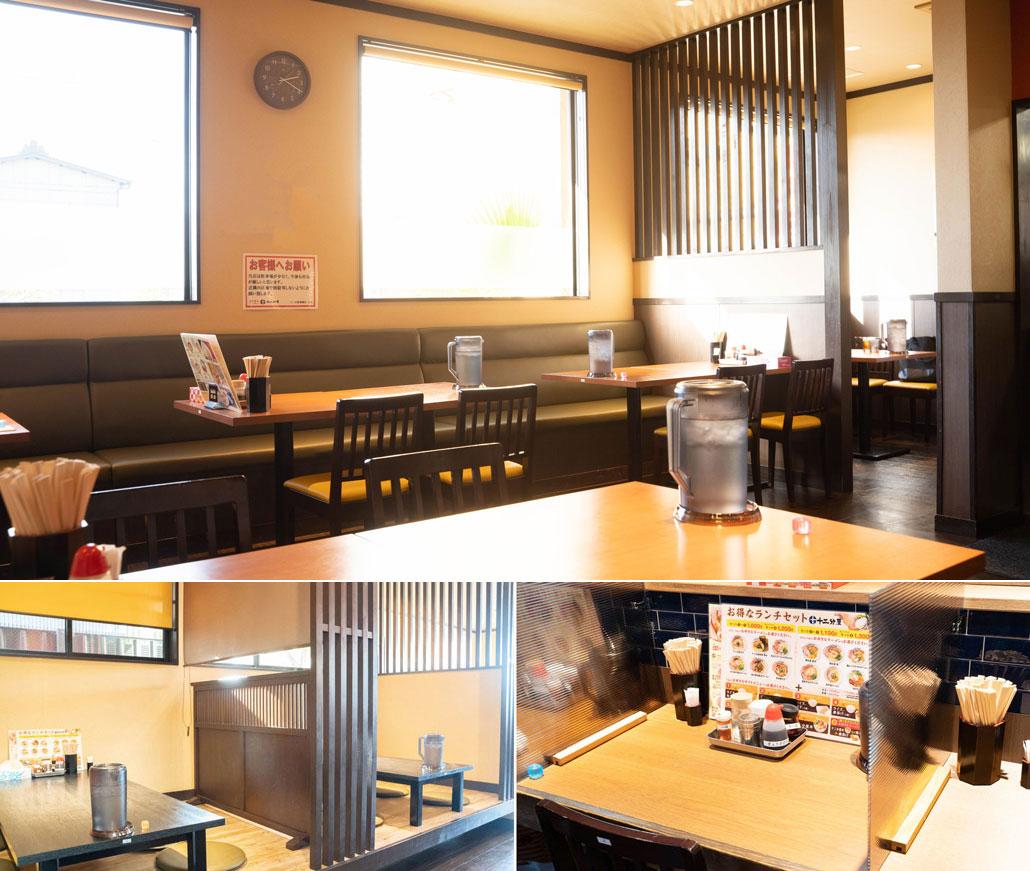 「熟成醤油らーめん-十二分屋-城陽店」店内画像