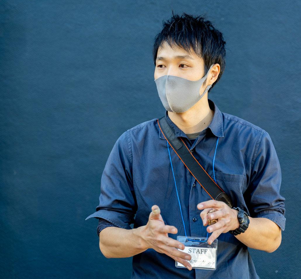 田辺氏の画像