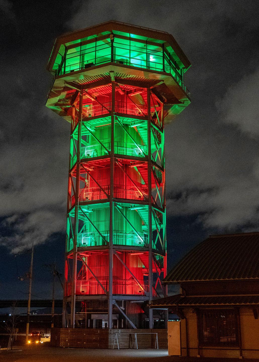 「さくらであい館」展望塔の画像2