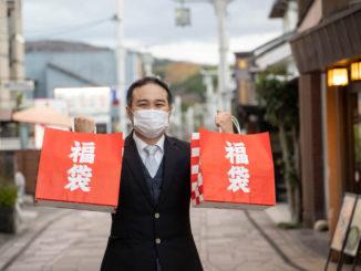 平等院表参道商店会会長の上林亮一郎氏の画像