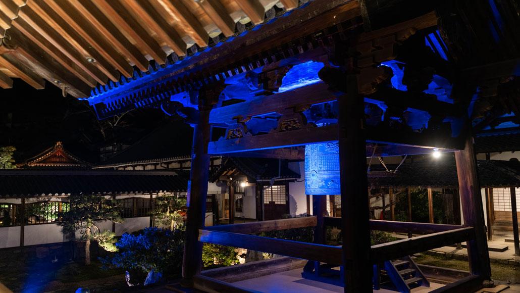 興聖寺の紅葉のライトアップ画像4