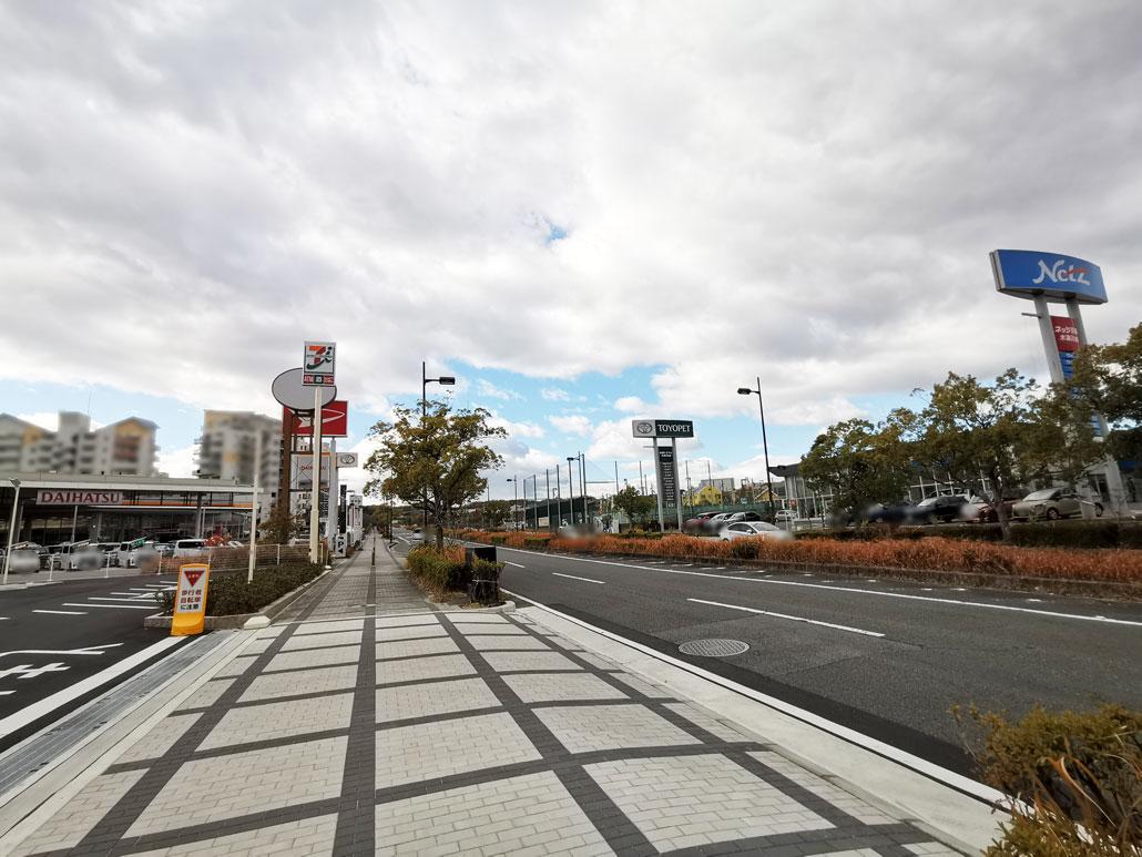 「セブンイレブン 木津川台6丁目」行き方画像