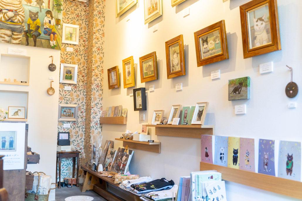 「3軒のねこと庭」さんの絵や雑貨の画像
