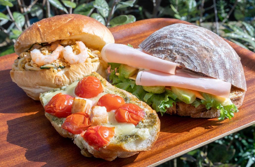 「ブーランジェ ヤマダ」3種のパンの画像