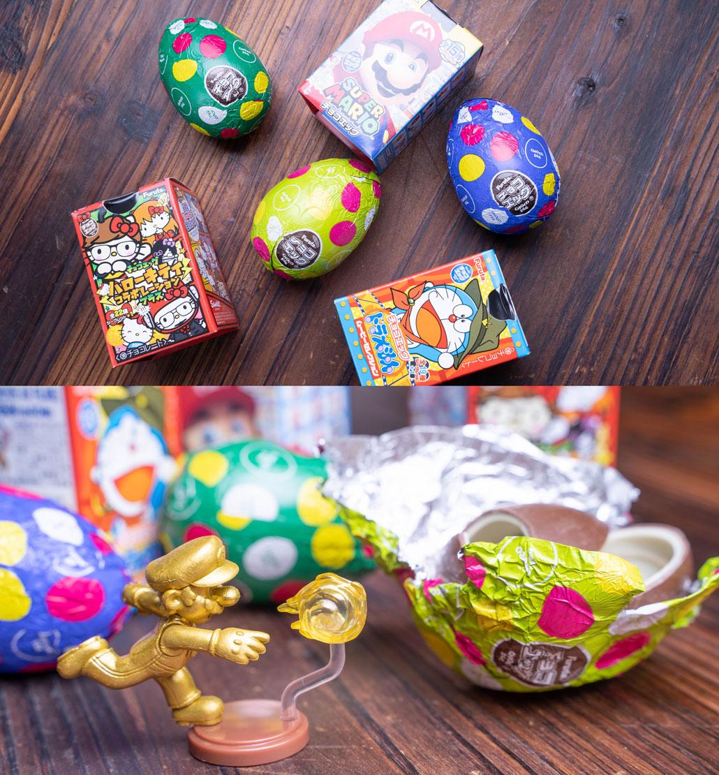 たまごの駄菓子 チョコエッグの画像