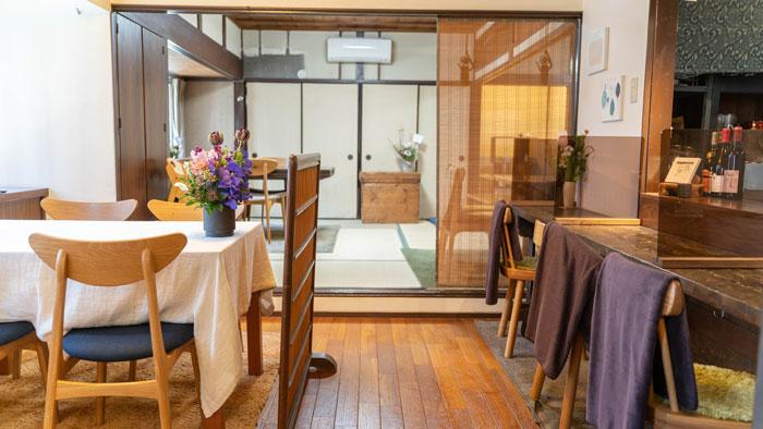 「季節料理と天ぷら LovA」店内画像
