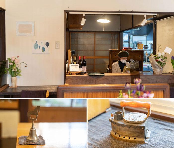 「季節料理と天ぷら LovA」カウンターなどの画像