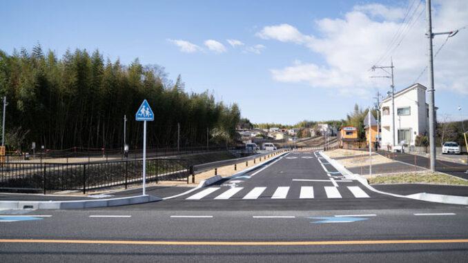 「市道町田宮ノ前線」車道の画像