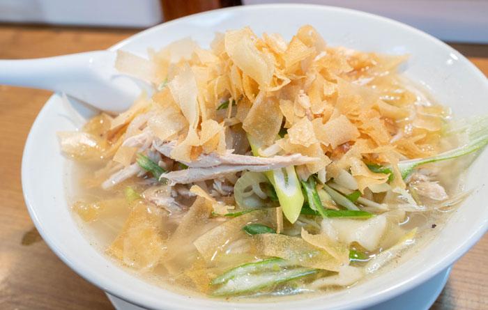 「鶏絲麺」の画像